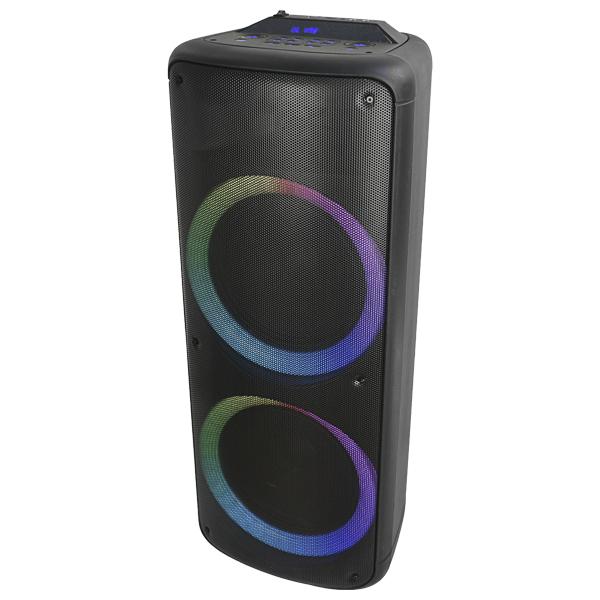 Altoparlante Bluetooth Denver Electronics 72W Nero
