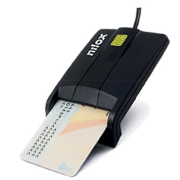 Nilox NXLD001 lettore di card readers Interno USB 2.0 Nero