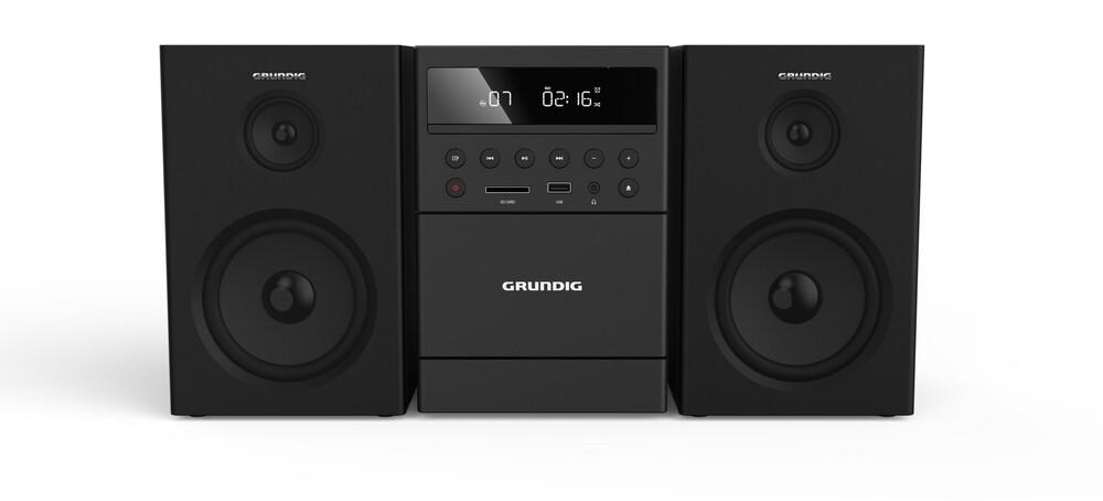 Grundig MS 300 Microsistema audio per la casa 40 W Nero