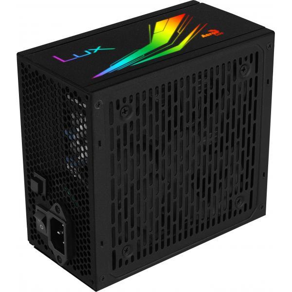 Aerocool LUX RGB 850 Alimentatore SemiModulare RGB da 850W 80Plus Bronze