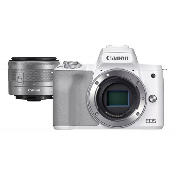 Canon EOS M50 Mark II + M15-45 S EU26 MILC 24,1 MP CMOS 6000 x 4000 Pixel Bianco