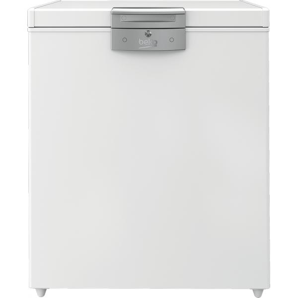 Beko HS14540N - Congelatore Orizzontale Statico, 148 Litri, Classe E, 91.2 x 75.5 x 67.5 cm