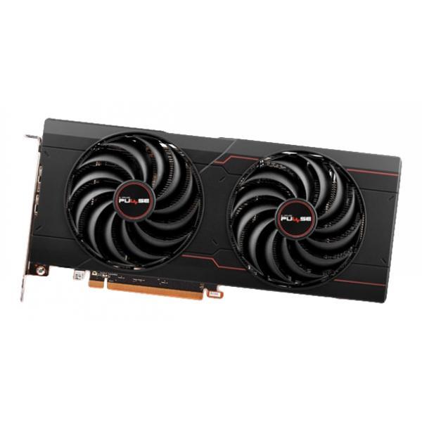 SAPPHIRE AMD Radeon RX 6700 XT OC Pulse Gaming Grafikkarte mit 12GB GDDR6