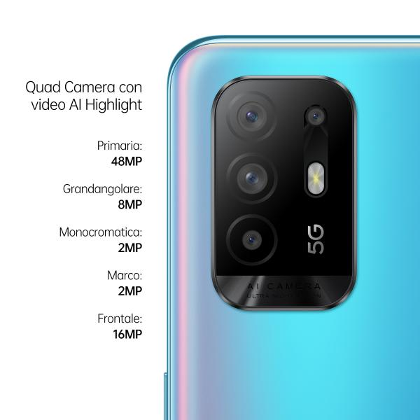 OPPO CELLULARE A94 5G COSMO BLUE