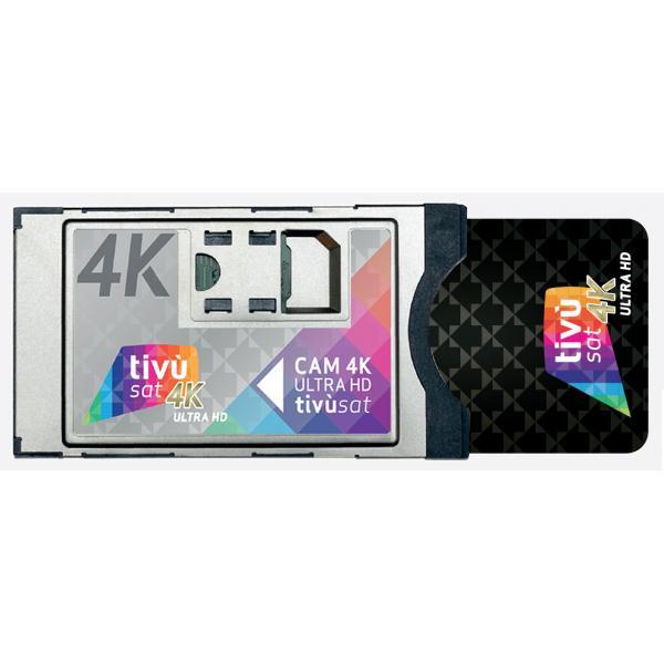 A18000UHD CAM CI+ Tivùsat 4K con Smart Card 4K