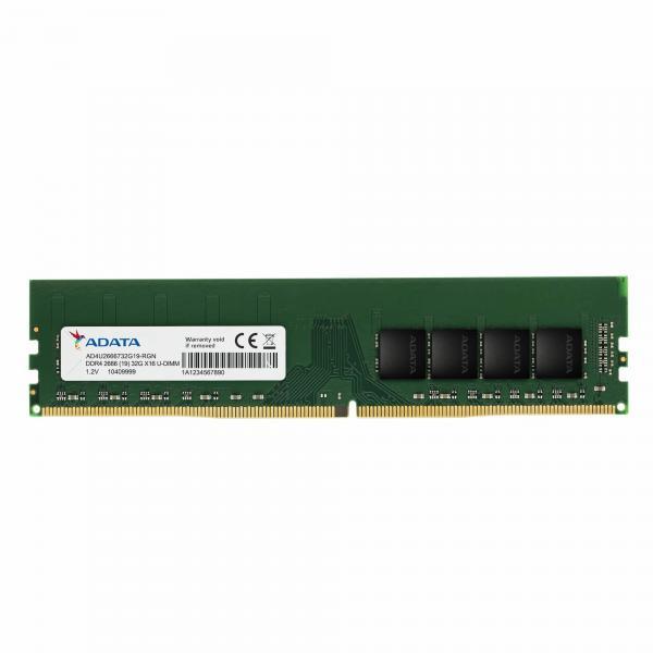 ADATA AD4U26668G19-SGN memoria 8 GB 1 x 8 GB DDR4 2666 MHz