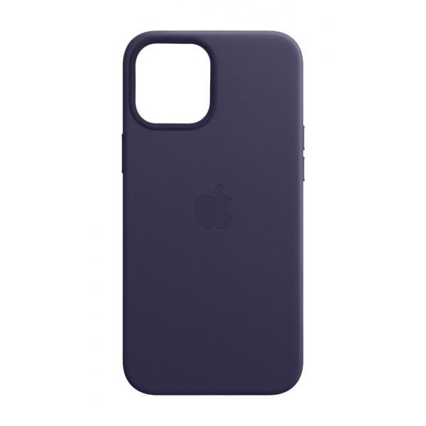 Apple Custodia MagSafe in pelle per iPhone 12 Pro Max - Viola profondo