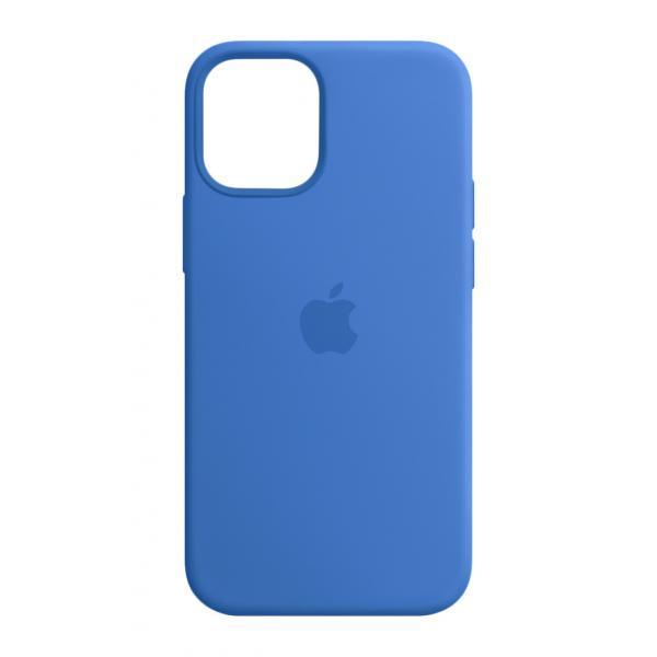 Apple Custodia MagSafe in silicone per iPhone 12 mini - Azzurro Capri