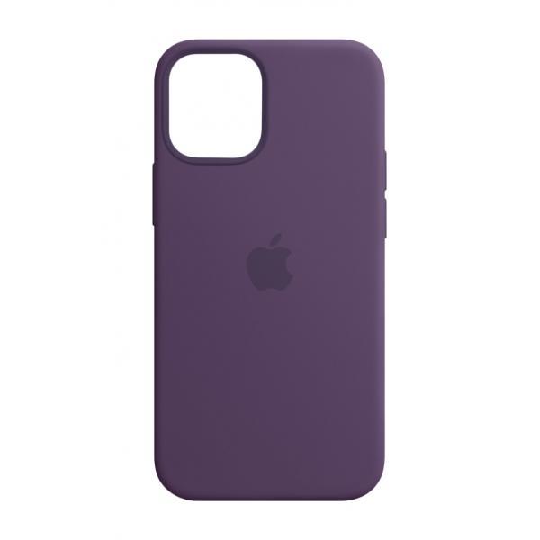 Apple Custodia MagSafe in silicone per iPhone 12 mini - Ametista