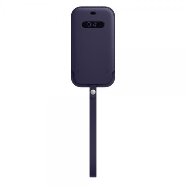 Apple Custodia a tasca MagSafe in pelle per iPhone 12 12 Pro - Viola profondo