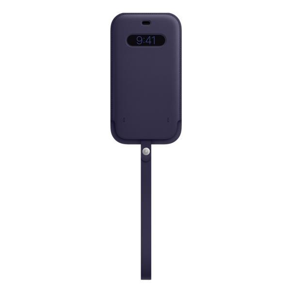Apple Custodia a tasca MagSafe in pelle per iPhone 12 Pro Max - Viola profondo