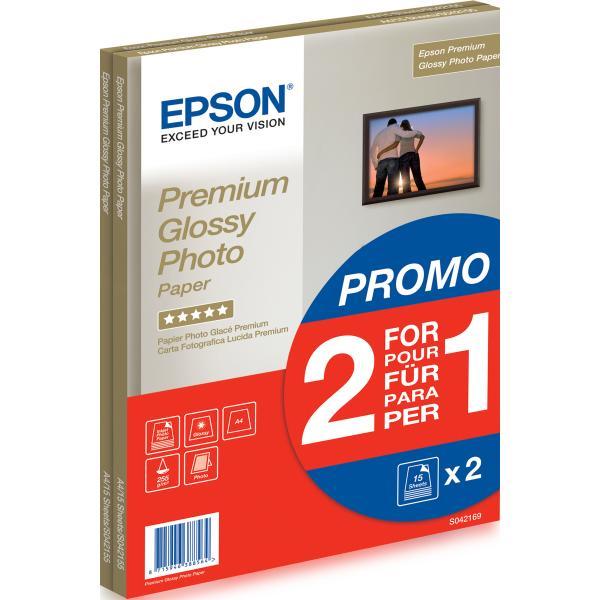 CARTA EPSON C13S042169 FOTO LUCIDA BEST A4 255g/m² 30FF ***Promo Conf. doppia al prezzo singolo***