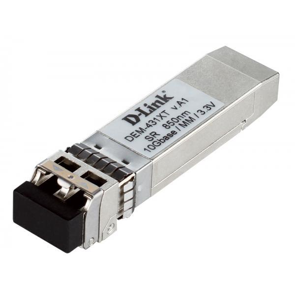 D-Link DEM-431XT 10000Mbit/s SFP+ 850nm Modalità multipla modulo del ricetrasmettitore di rete 0790069353130 DEM-431XT 10_5844040
