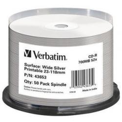 Verbatim Verbatim 43653 CD vergine CD-R 700 MB 50 pezzo(i)
