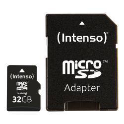 Intenso Intenso 32GB MicroSDHC memoria flash Classe 10