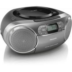 Philips Philips AZB600/12 impianto stereo portatile Digitale 2 W Grigio