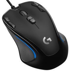 Logitech Logitech G300s mouse USB 2500 DPI Ambidestro