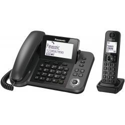Panasonic Panasonic KX-TGF310 Telefono DECT Nero Identificatore di chiamata