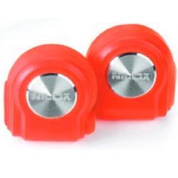 Nilox Nilox 10NXAU15ST005 headphones/headset Cuffia Aggancio Rosso