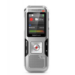 Philips Philips DVT4010 dittafono Memoria interna e scheda di memoria Argento