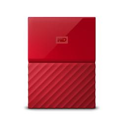 WESTERN DIGITAL Western Digital My Passport disco rigido esterno 1000 GB Rosso