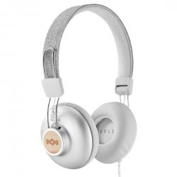 Marley The House Of Marley EM-JH121-SV headphones/headset Cuffia Padiglione auricolare Bianco