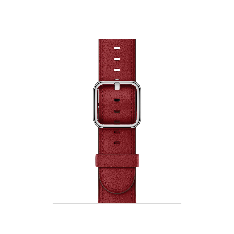 Apple Apple MR392ZM/A accessorio per smartwatch Band Rosso Pelle