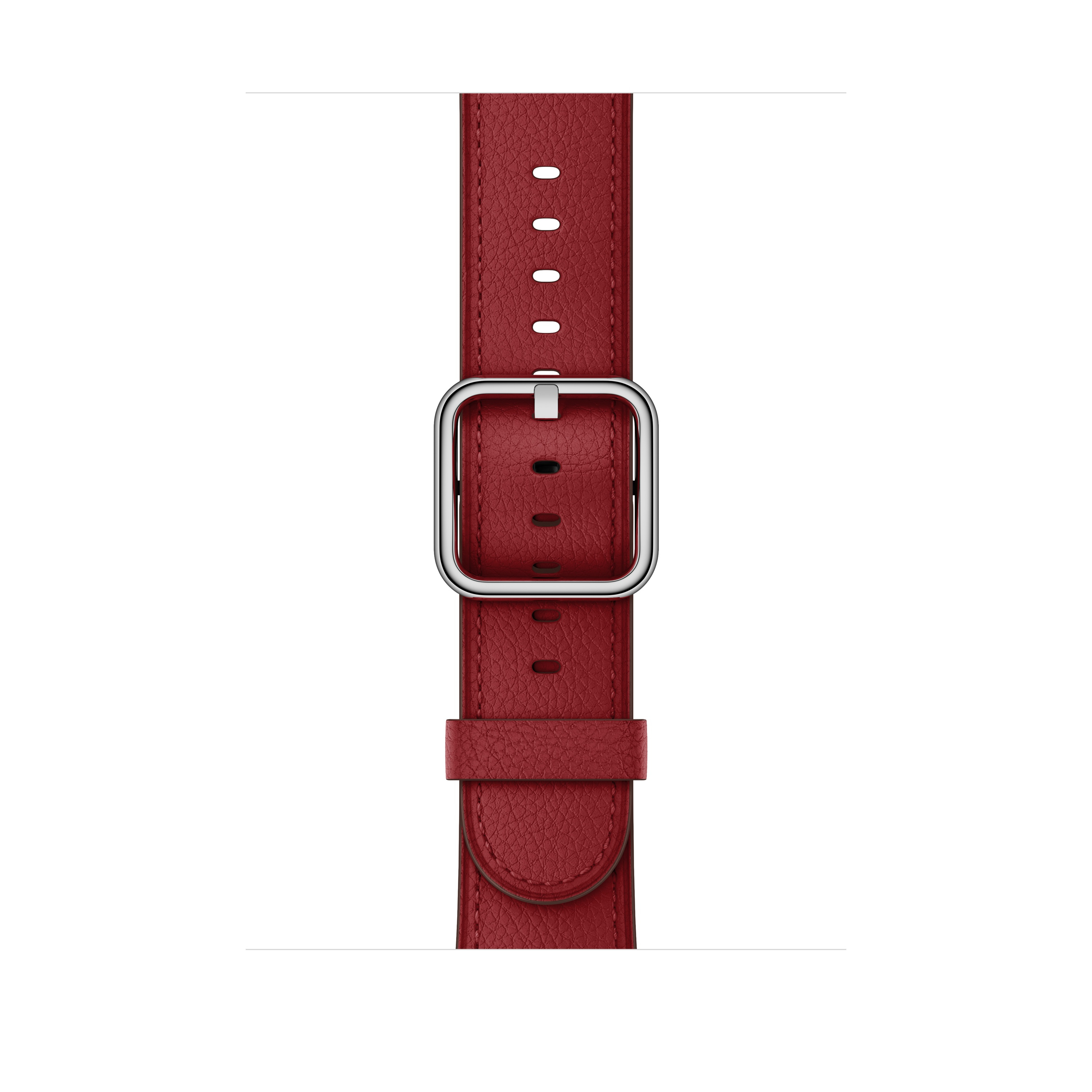 Apple Apple MR3A2ZM/A accessorio per smartwatch Band Rosso Pelle
