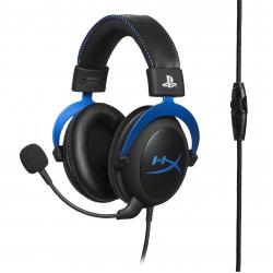 Kingston HyperX Cloud Cuffia Padiglione auricolare Nero, Blu