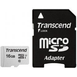 Transcend Transcend microSDHC 300S 16GB memoria flash Classe 10 NAND