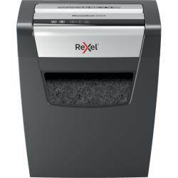 Rexel Rexel Momentum X410 distruggi documenti Particle-cut shredding Nero, Grigio