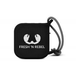 Fresh 'n Rebel Fresh 'n Rebel Rockbox Pebble 1RB0500BL - Altoparlante portatile Bluetooth splashproof, nero