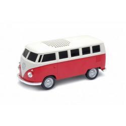 Redline Redline Volkswagen T1 Bus 3 W Altoparlante portatile stereo Nero, Rosso, Bianco