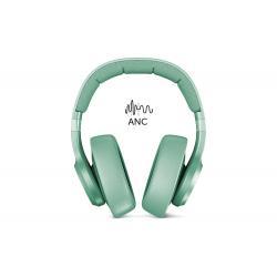 Fresh 'n Rebel Fresh 'n Rebel Clam ANC Cuffia Padiglione auricolare Connettore 3.5 mm Micro-USB Bluetooth Colore menta