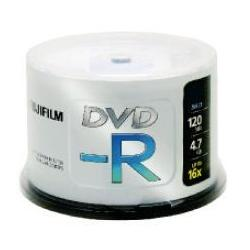 Fujifilm Fujifilm DVD-R 4.7GB 16x 100pk 4,7 GB 100 pezzo(i)