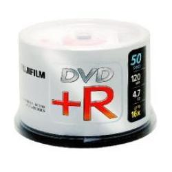 Fujifilm Fujifilm DVD+R 4.7GB 16x 100pk 4,7 GB 100 pezzo(i)