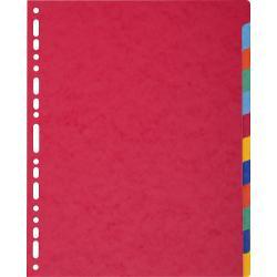 Exacompta Exacompta 2612E Cartoncino Multicolore 12pezzo(i) divisore