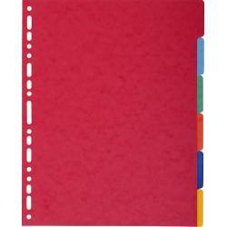 Exacompta Exacompta 2606E Cartoncino Multicolore 6pezzo(i) divisore