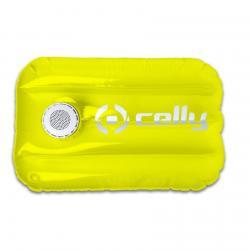 Celly Celly Poolpillow Altoparlante portatile mono Bianco, Giallo