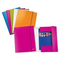 Leitz Leitz WOW folder 3 flap Policarbonato Bianco cartella