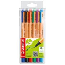 Stabilo STABILO GREENpoint penna tecnica Nero, Blu, Verde, Lillà, Rosso, Turchese 6 pezzo(i)