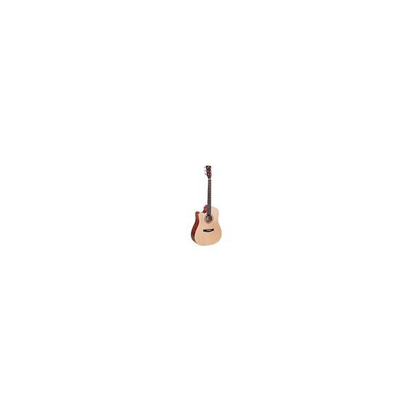 CHITARRA ACUSTICA  MANCINA SOUNDSATION GRAND TETON-DNCE-NT-LH DREADNOUGHT CUTAWAY w/PREAMP