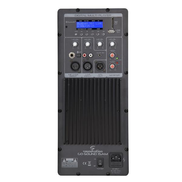 DIFFUSORE ATTIVO 2-VIE SOUNDSATION GO-SOUND 15AM 880W MP3 BLUETOOTH