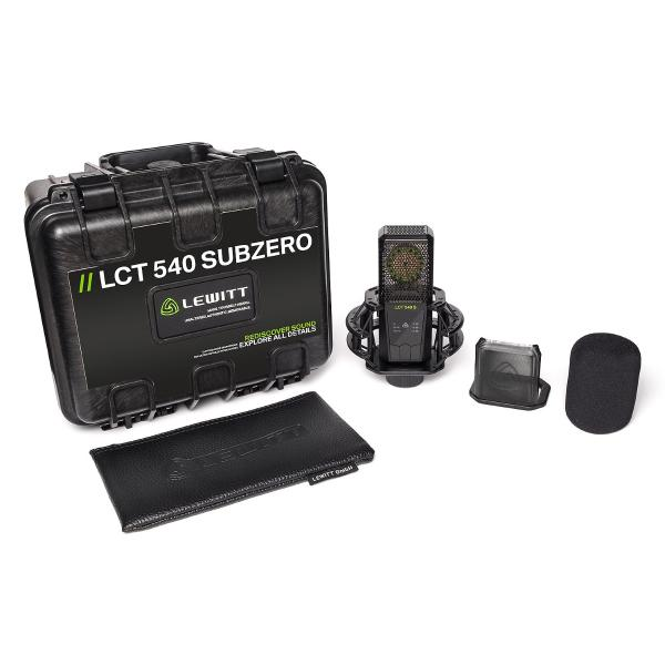 MICROFONO LEWITT STUDIO RECORDING LCT-540S