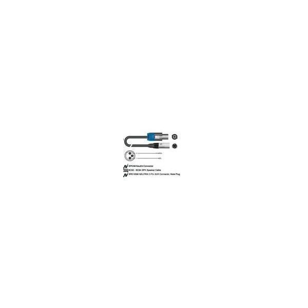 CAVO SPEAKON SC92BK-200GD CONDUTTORE 2X1 MMQ