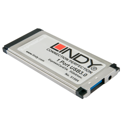 ExpressCard USB 3.0, 1 Porta