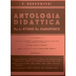 EDIZIONI S. SIMEOLI - ANTOLOGIA DIDATTICA Fascicolo III - ROSSOMANDI