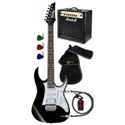 IBANEZ -  - Kit per chitarristi apprendisti: Chitarra - Borsa - Ampli - Plettri - Cavo - Accordatore