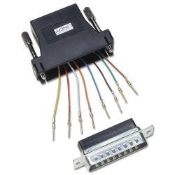 Adattatore modulare 25 poli M/RJ-45