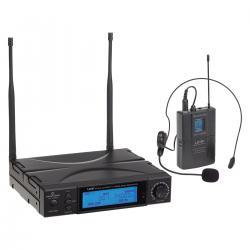 RADIOMICROFONO TRUE DIVERSITY UHF SOUNDSATION WF-U1300P 300 CANALI TX POCKET 823-832MHz